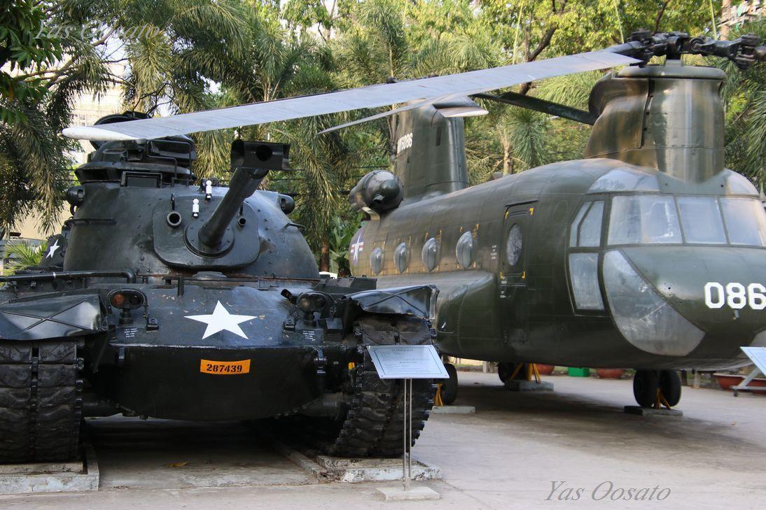 戦争証跡博物館と屋外展示