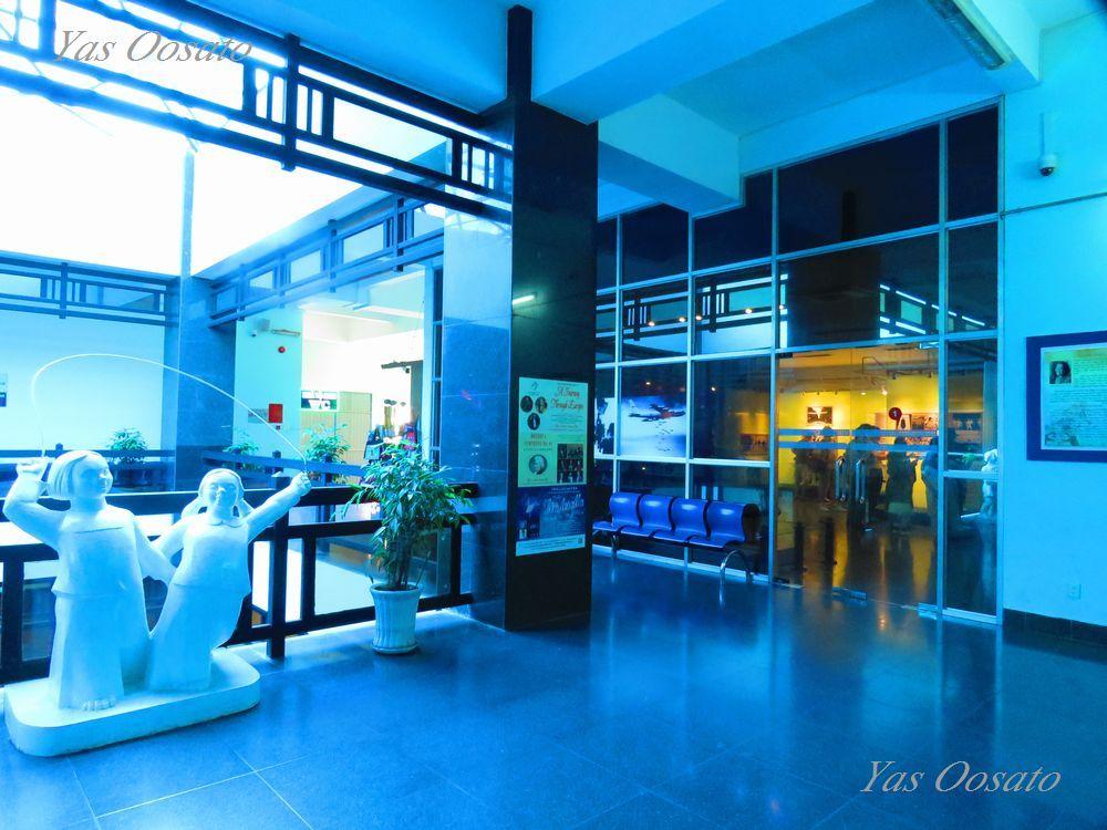 戦争証跡博物館は3階から番号順に1階へ進む
