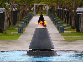 糸満市・平和記念公園(摩文仁の丘)と沖縄師範健児の塔で知る激戦の跡
