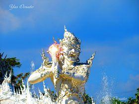 タイのワット・ロンクン(ホワイトテンプル)の純白天国と怖い地獄