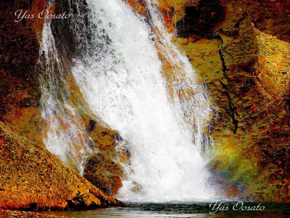 幻の滝「松見の滝」