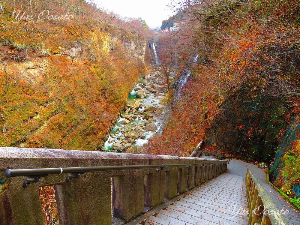 小安峡の美しき景観