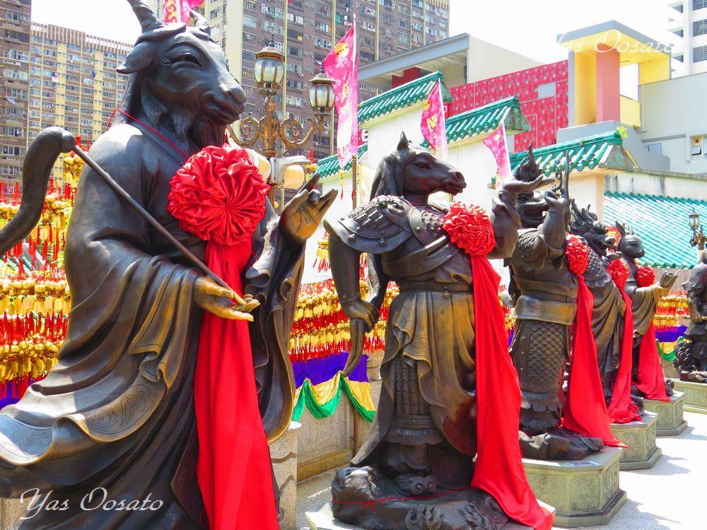 香港で特に有名なパワースポット「黄大仙祠」で叶えられる望み
