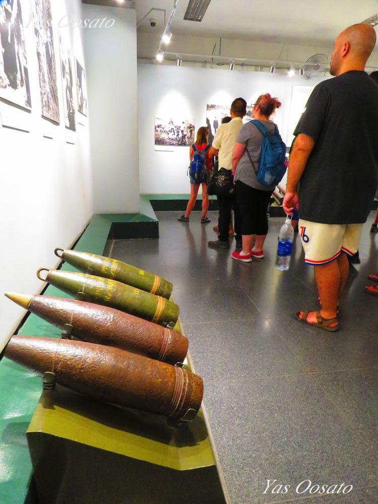 ベトナム戦争の悲惨さを知る「戦争証跡博物館」
