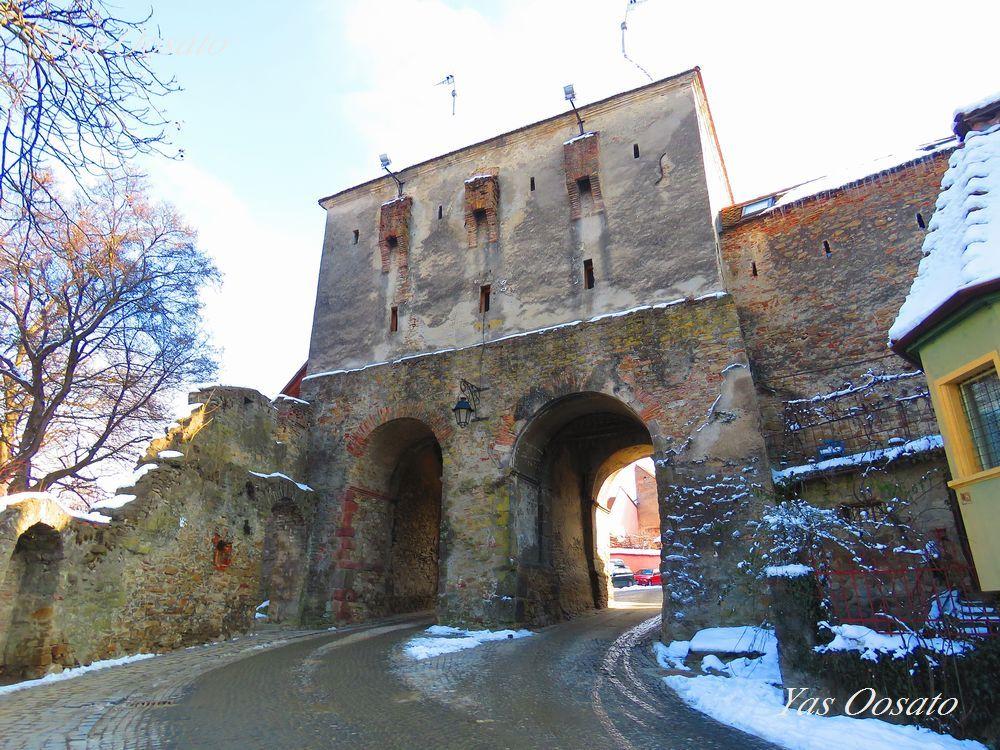 城壁で囲まれた世界遺産「シギショアラ歴史地区」