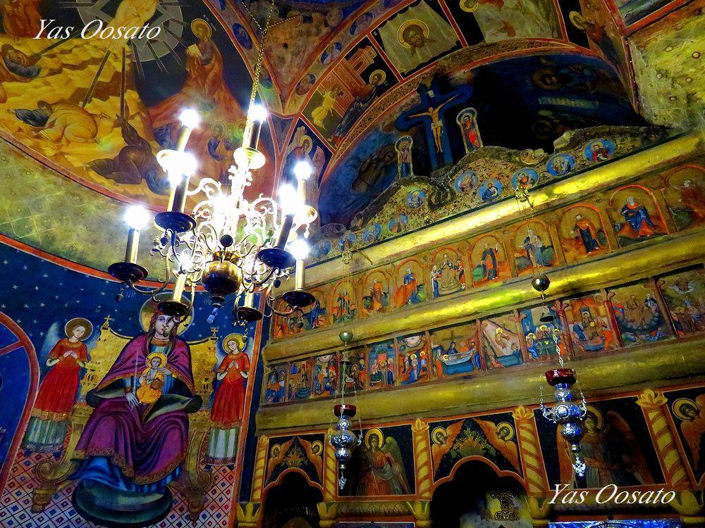 ルーマニア観光・シナイア僧院の美しすぎるイコン画の世界
