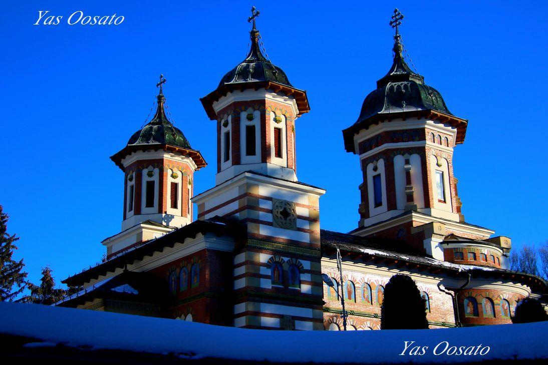 シナイア僧院の歴史と大教会