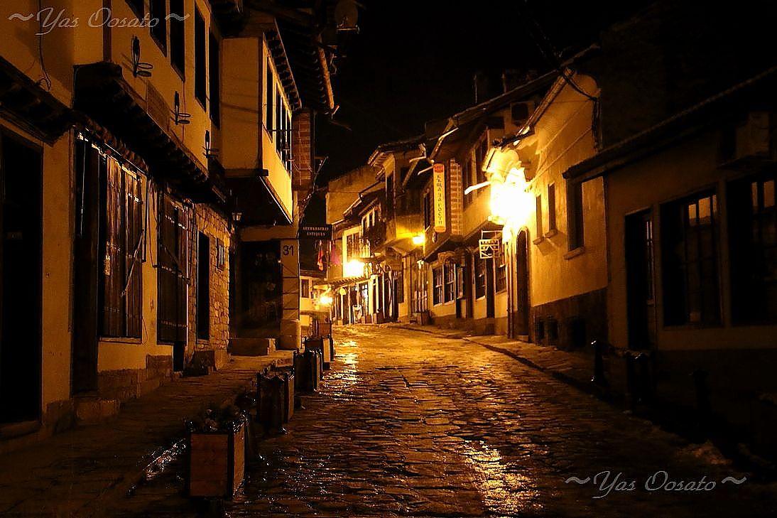 旧市街地は夜も美しい