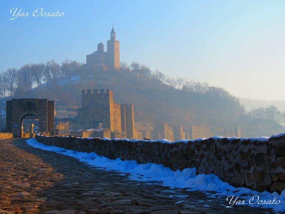 ツァレヴェッツの丘の城跡