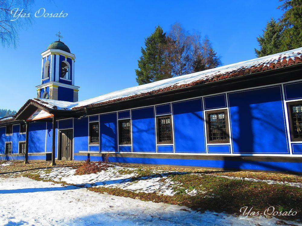 トドール・カブレシュコフが眠る青の生神女正教会