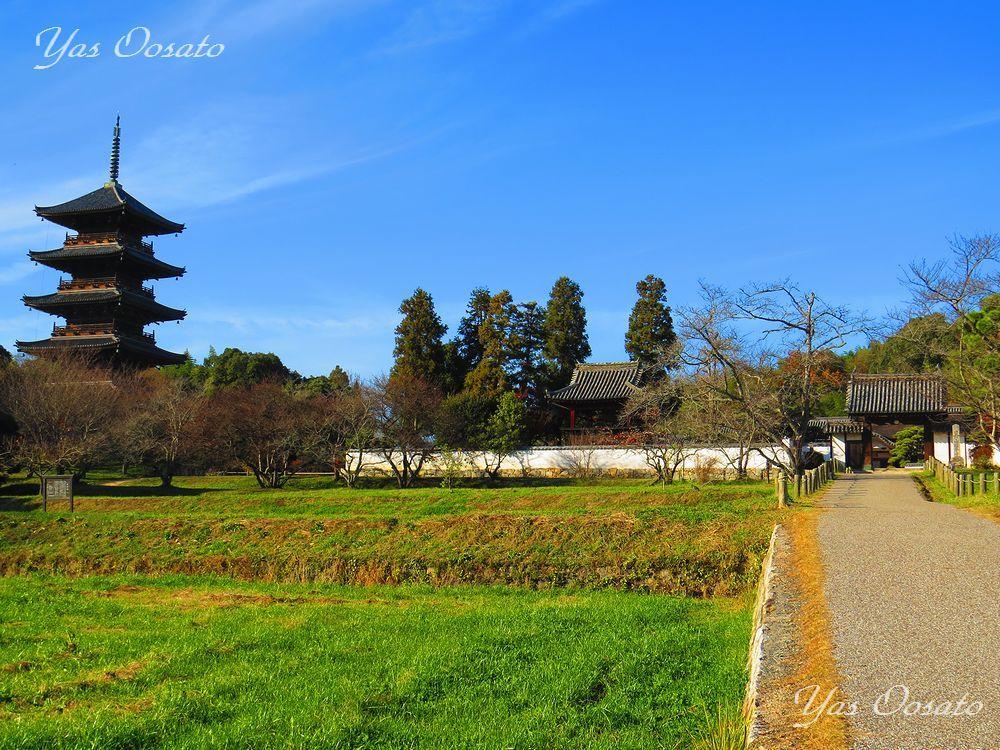 備中国分寺の山門の美