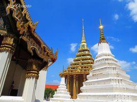 多くのタイ人が勧める仏足跡のワットプラプッタバート観光