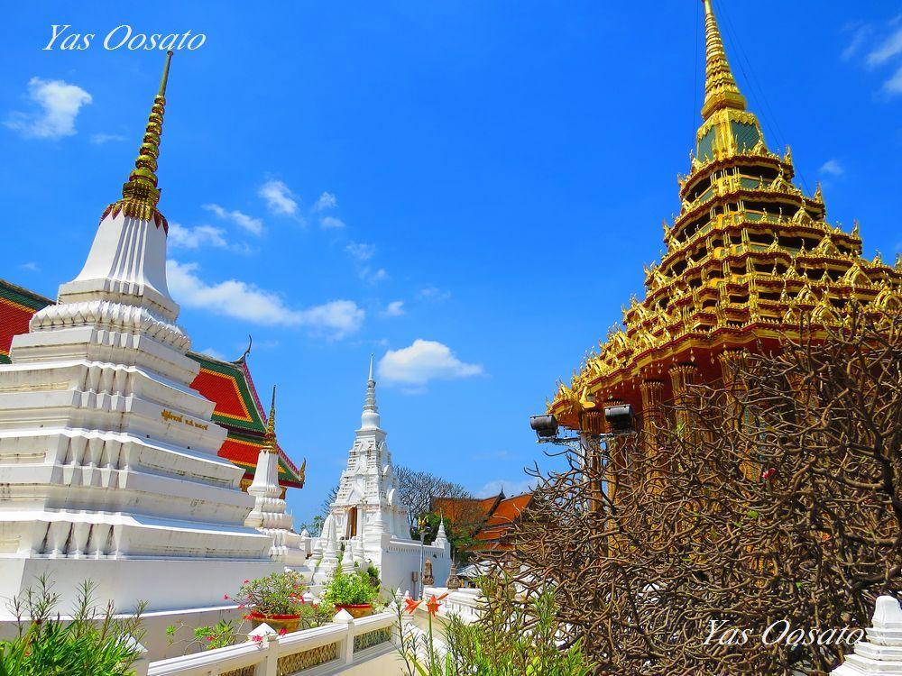 美しい寺院とアユタヤとの関係
