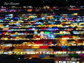 バンコク・ラチャダートレインナイトマーケットの撮影ポイントはここだ!