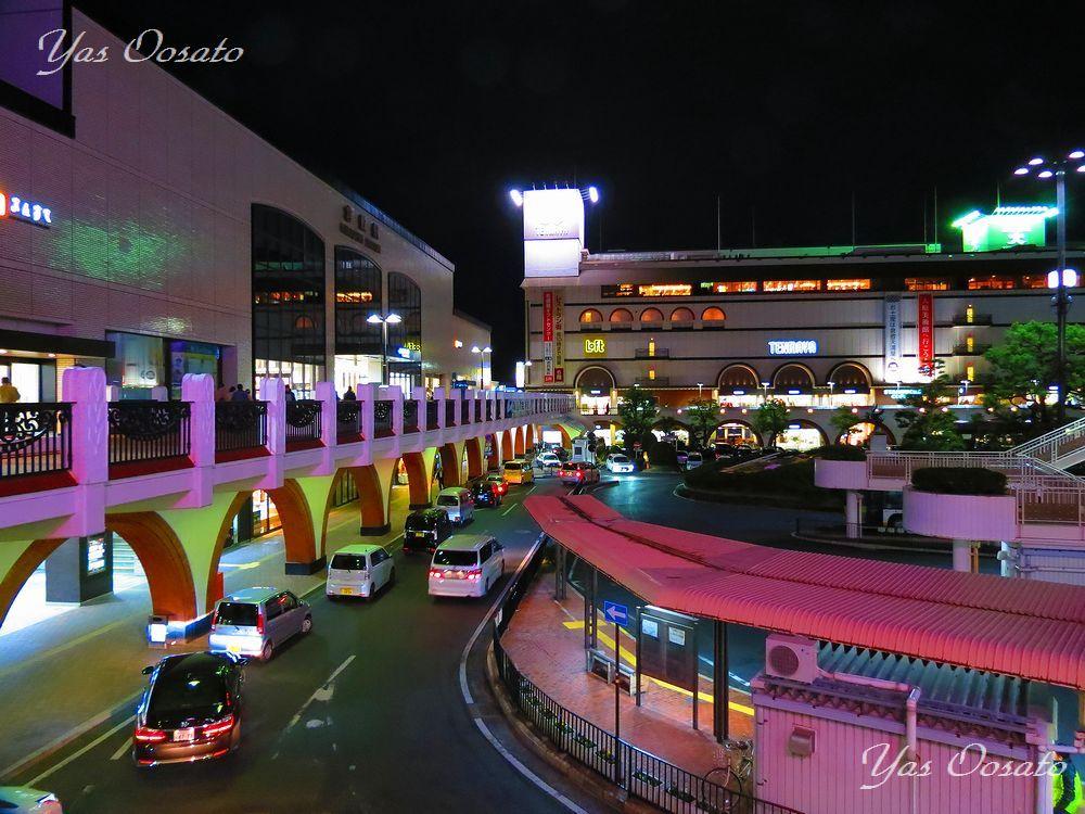 JR倉敷駅前の様子