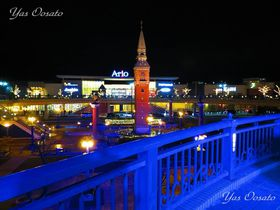 倉敷でライトアップが美しい美観地区と駅北のアンデルセン広場