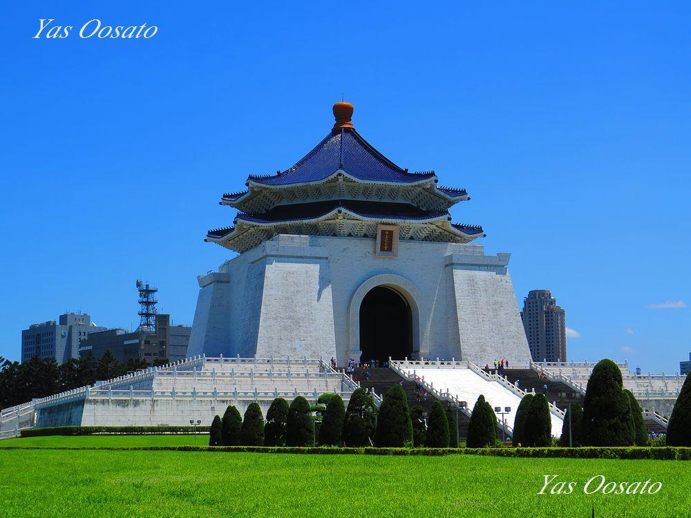 白く美しい「中正紀念堂」