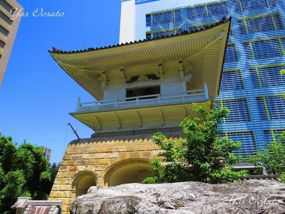 台北市「市定古跡」東和禅寺の鐘楼
