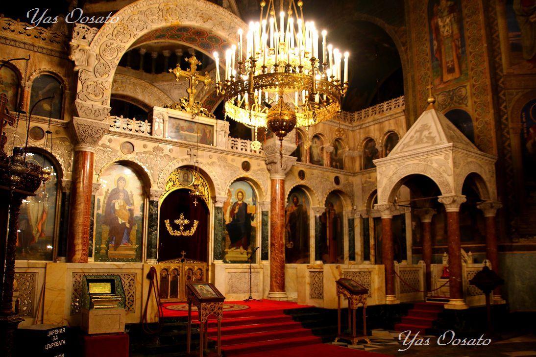 ソフィア最大の見どころ!アレクサンダル・ネフスキー寺院