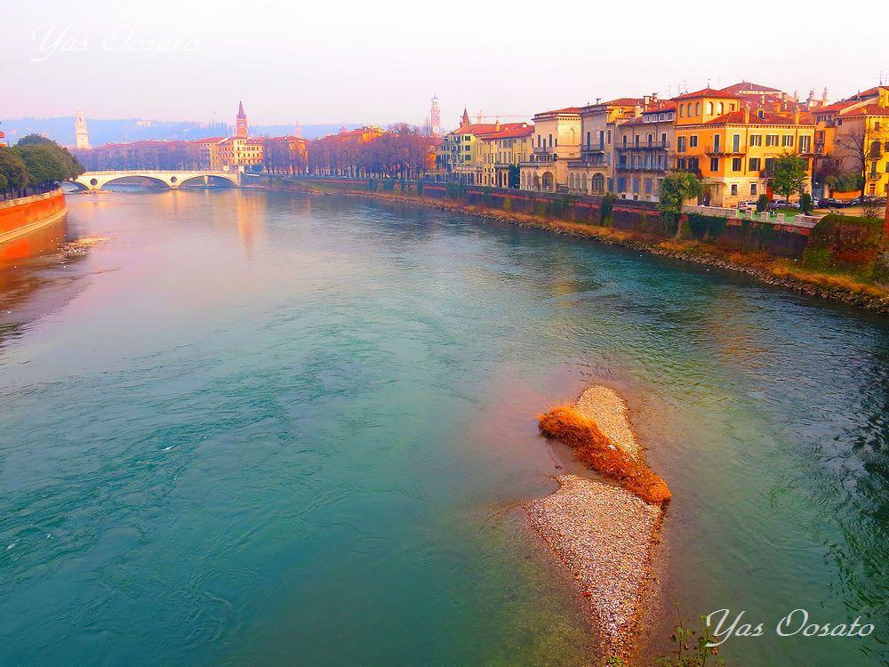 イタリアの世界遺産・ベローナの絶景とスカリジェロ橋の魅力