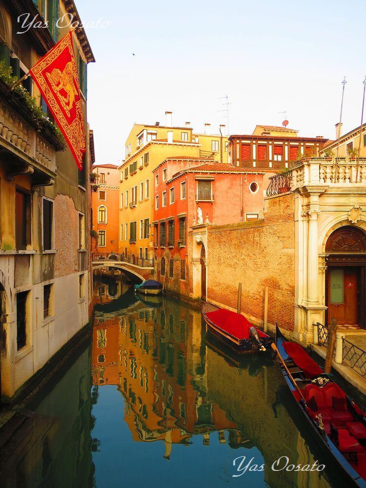 水の都「ベネチア」を散策しリアルト橋へ