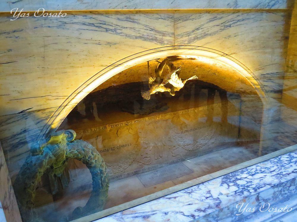 マルゲリータやラファエロの墓が!