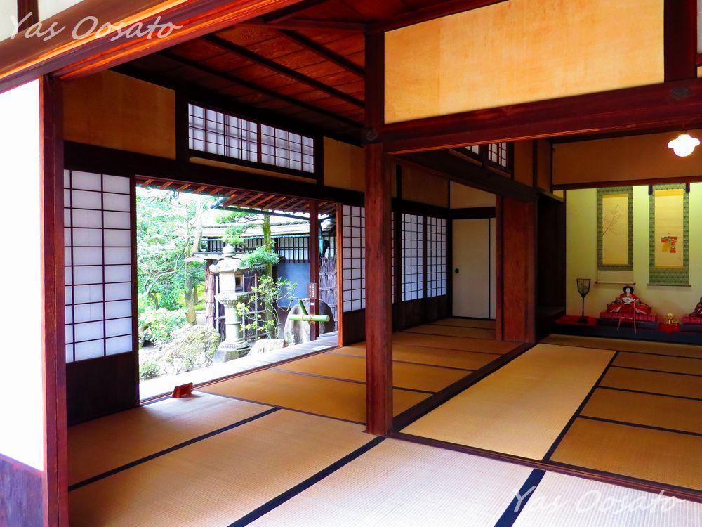 旧野崎家住宅と飾り雛
