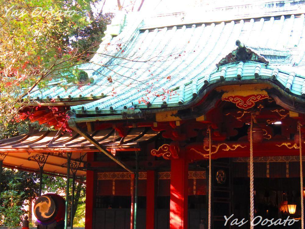 八代将軍「徳川吉宗」が命じて建立した社殿