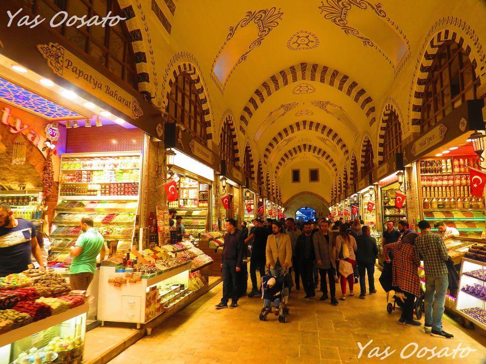 イスタンブールの歴史と「エジプシャン・バザール」