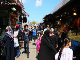 イスタンブール旧市街で買い物を!エジプジャンバザール・問屋街散策