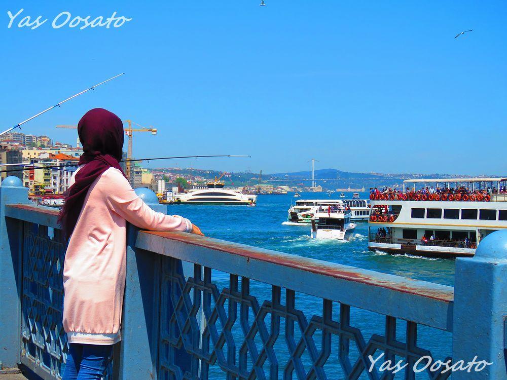 ガラタ橋からの眺め