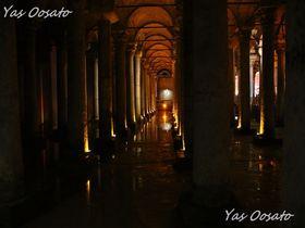 イスタンブールの地下宮殿「バシリカ・シスタン」で必見のメデューサ