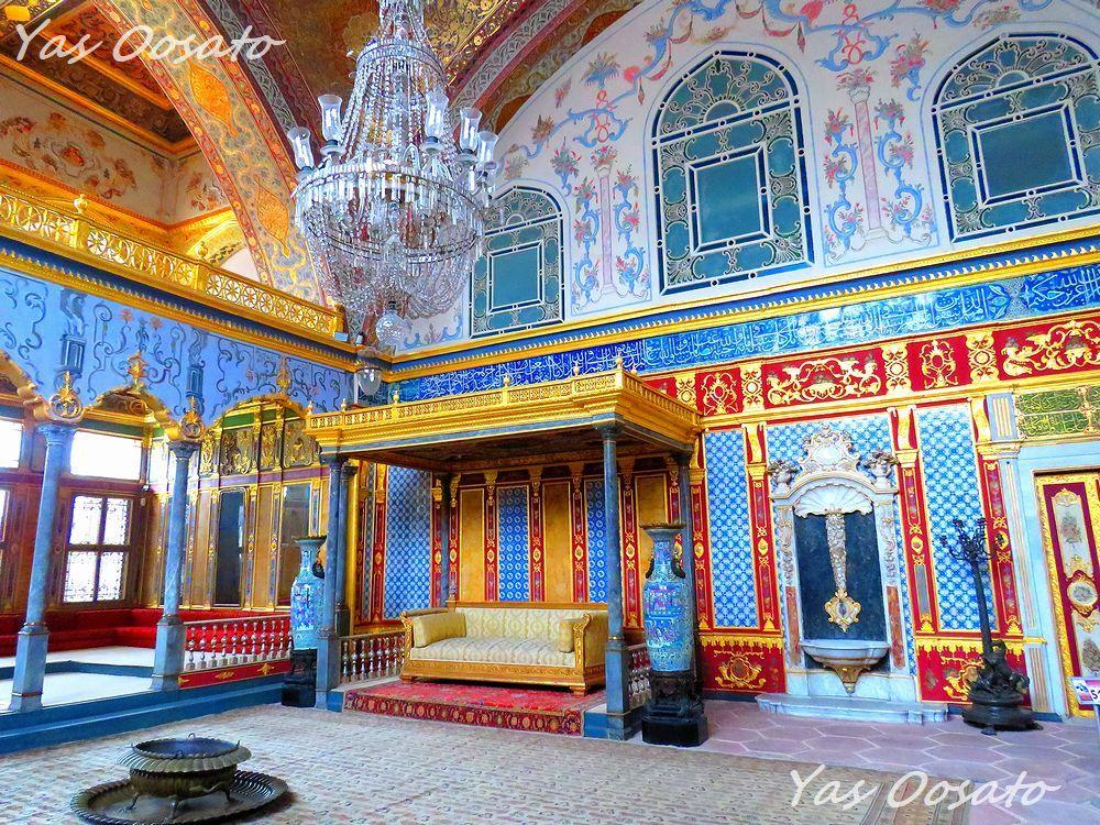 イスタンブール世界遺産「トプカプ宮殿」で美しい青の世界