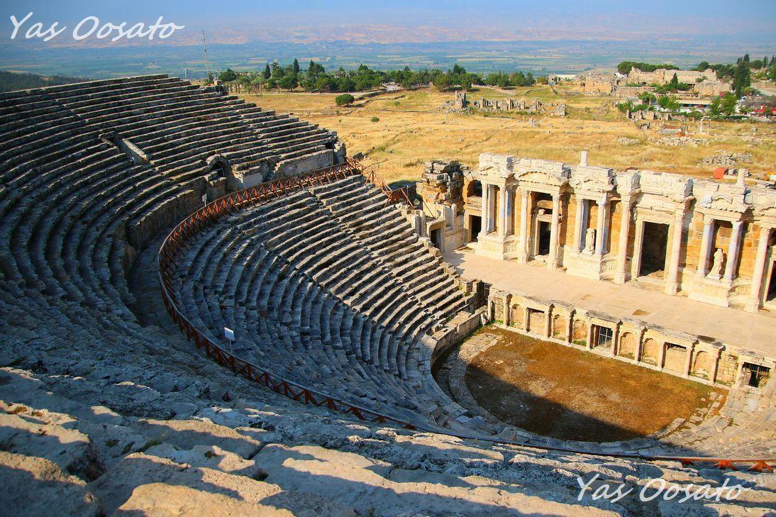 古代ローマ円形劇場の見事さ