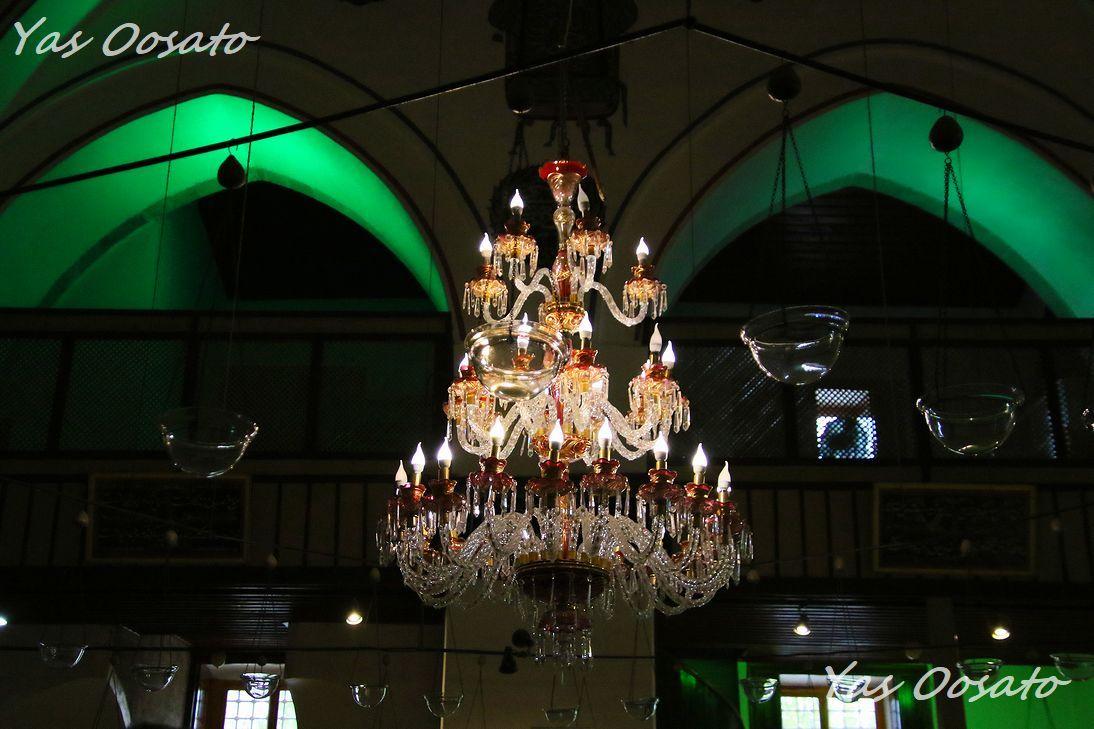 エメラルドグリーンが美しいトルコ・コンヤのメヴラーナ博物館