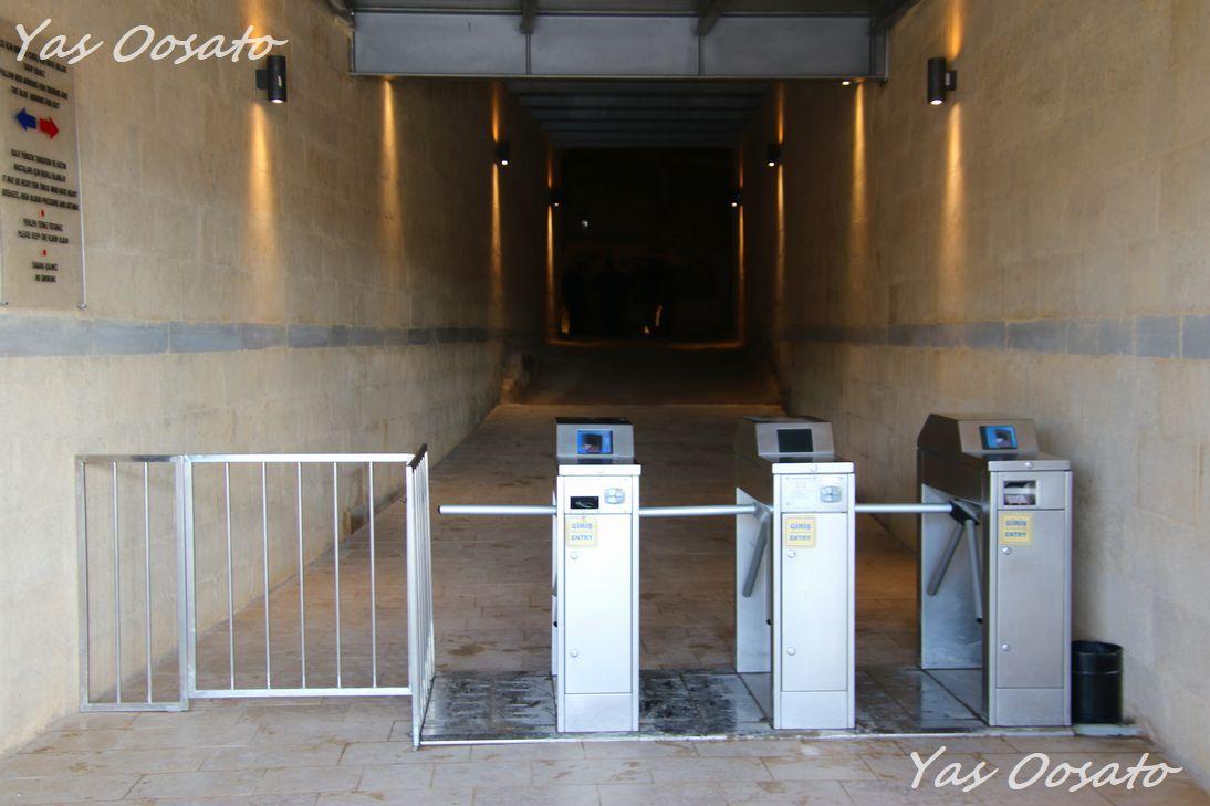「カイマクル地下都市」への入り口