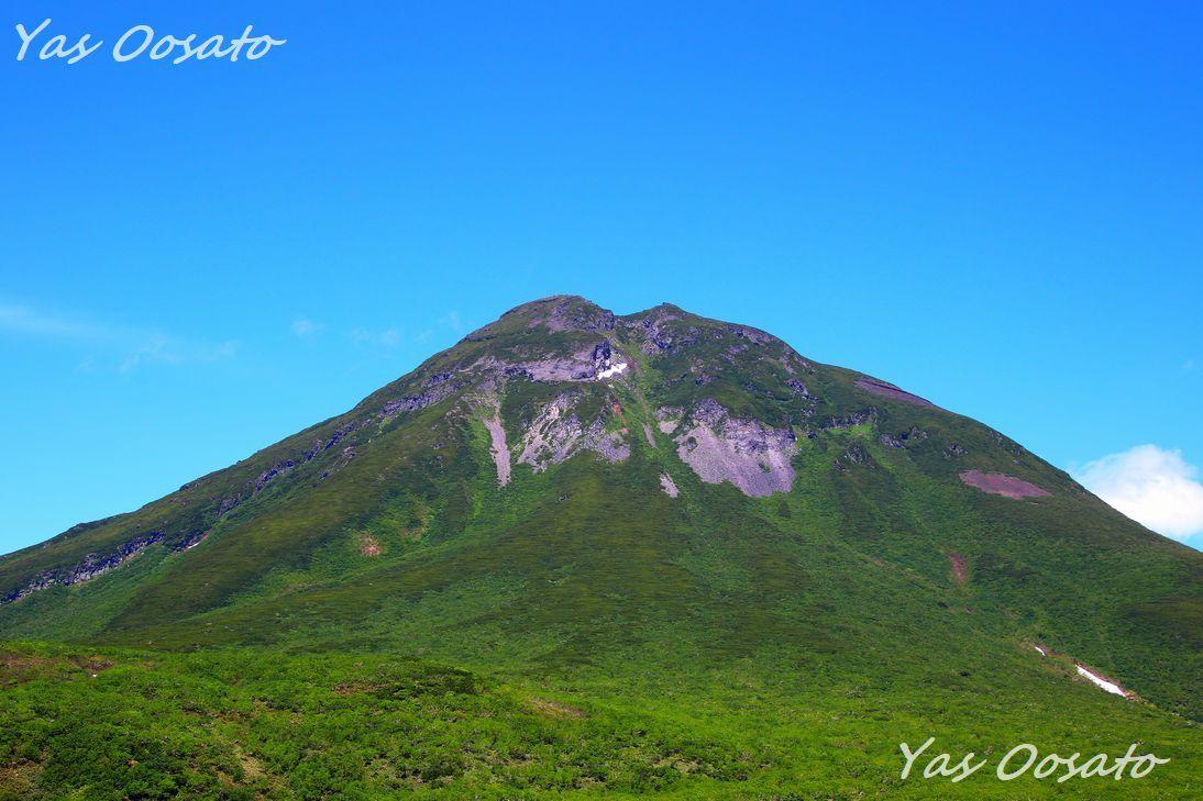 絶景の知床峠で羅臼岳