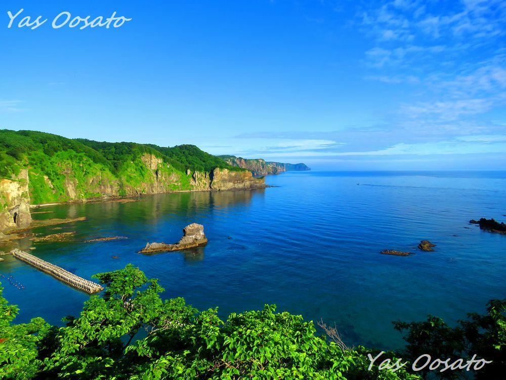 絶景「黄金岬」
