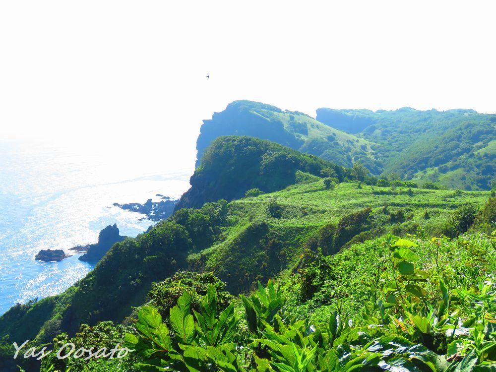積丹岬で見渡す絶景