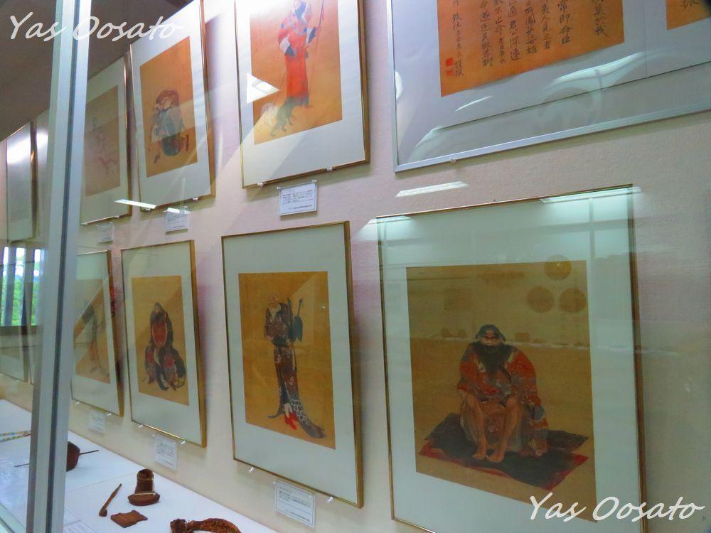 松前城資料館の様子