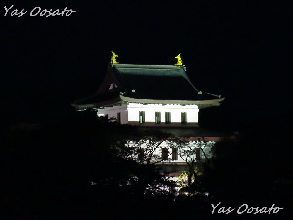 「福山城(松前城)」の外観