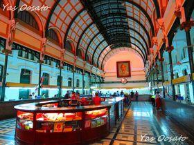 昼夜を問わず美しい!ホーチミン観光で必見のサイゴン中央郵便局