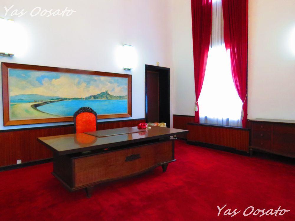 1階の内閣会議室、2階の大統領作戦室と大統領執務室