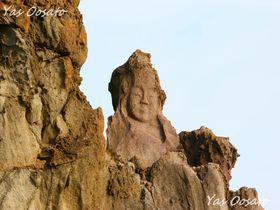 見る者の心を掴む山形遊佐町「十六羅漢岩」は日本海に面した名勝地
