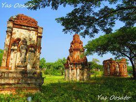 タイの見どころを一日で!?有名地を再現したエンシェント・シティ