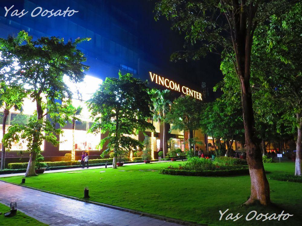 観光途中の食事や休憩に便利なビンコム・センター(VINCOM CENTER)