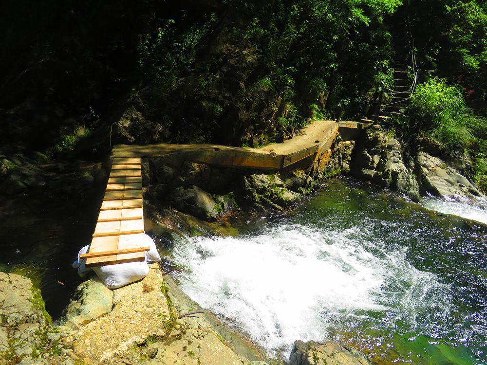 豪快な第3暗門の滝