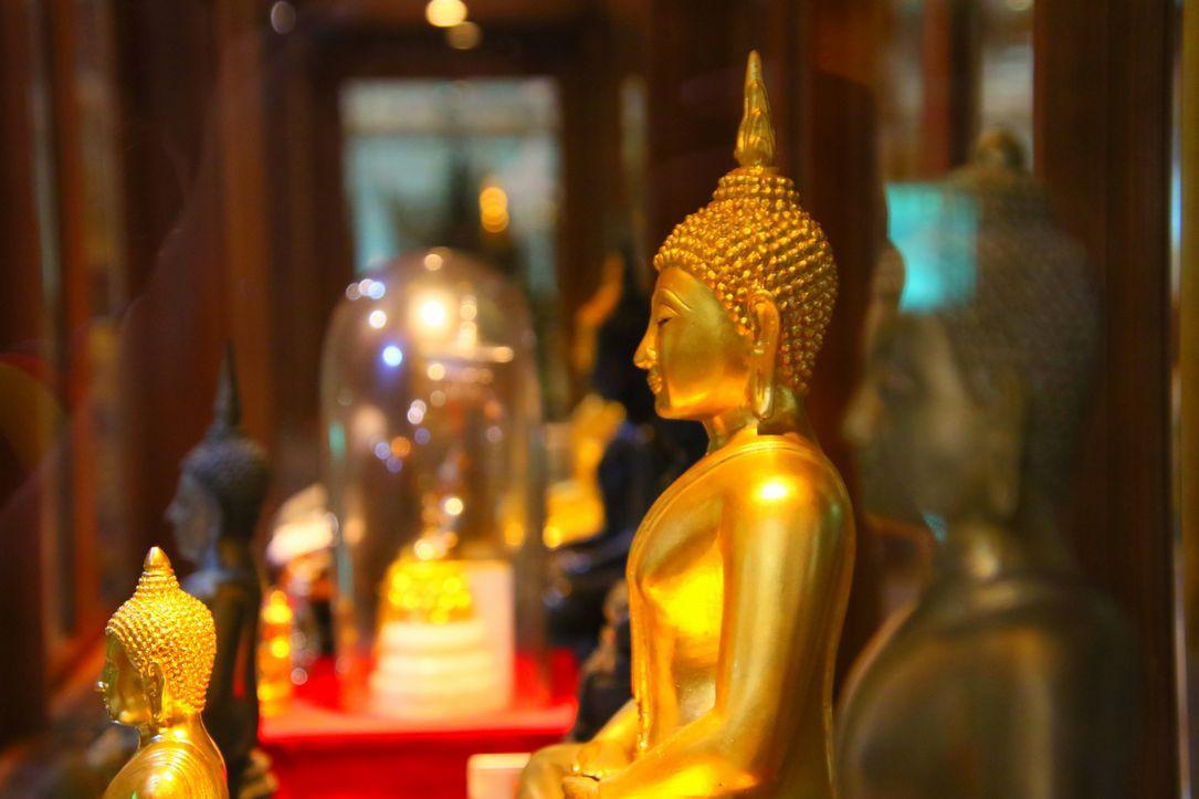 5層の大仏塔と注意事項