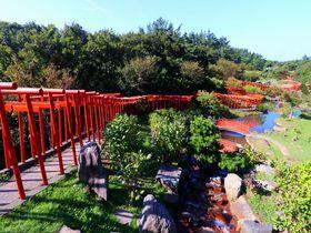津軽に映える朱色の千本鳥居!青森県つがる市「高山稲荷神社」