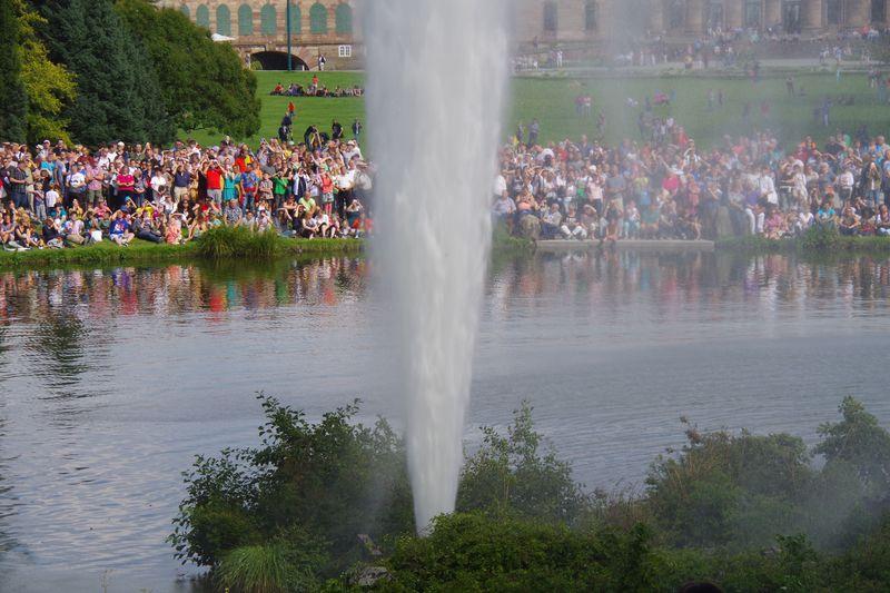 ドイツ カッセル「水の芸術」を世界遺産ヴィルヘルムスヘーエ城公園で鑑賞しよう!